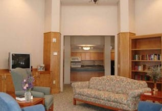 picture of room accommodations at Bristol Home Assisted Living Facility