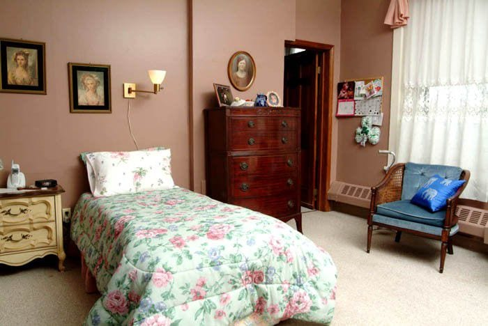 Image of residents room at Bristol Home Respite Care